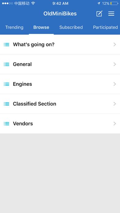 OldMiniBikes.com Forum screenshot 2