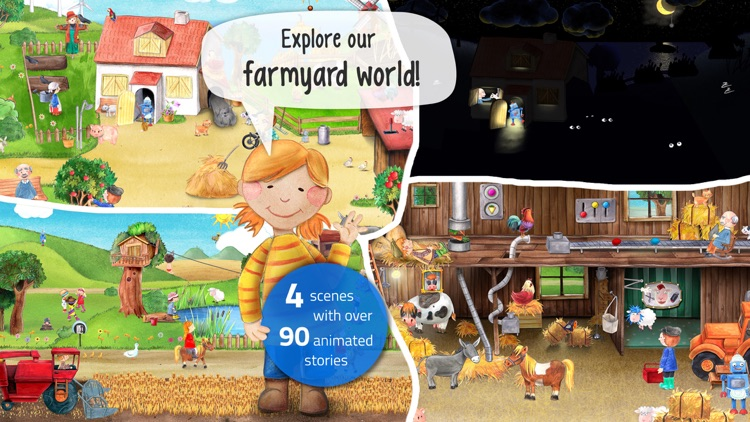 Tiny Farm: Animal & Tractor App for Kids screenshot-0