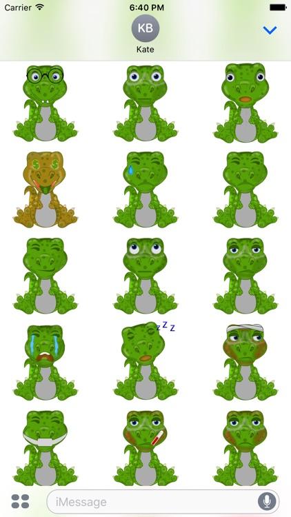 Mr Dino - Funny Stickers screenshot-4