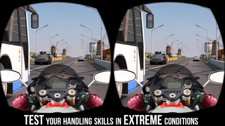 VR Traffic Bike Racer - Bike Racing Game pro screenshot-4