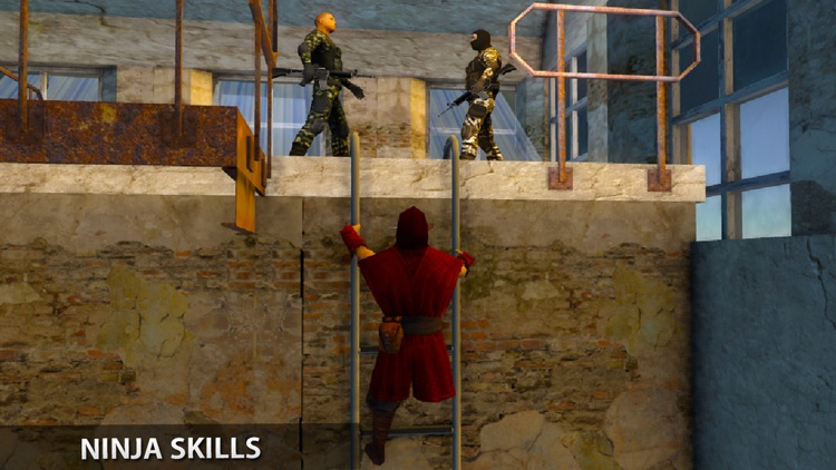 Ninja Warrior Prison Escape: A Prisoner Jail Break screenshot-3