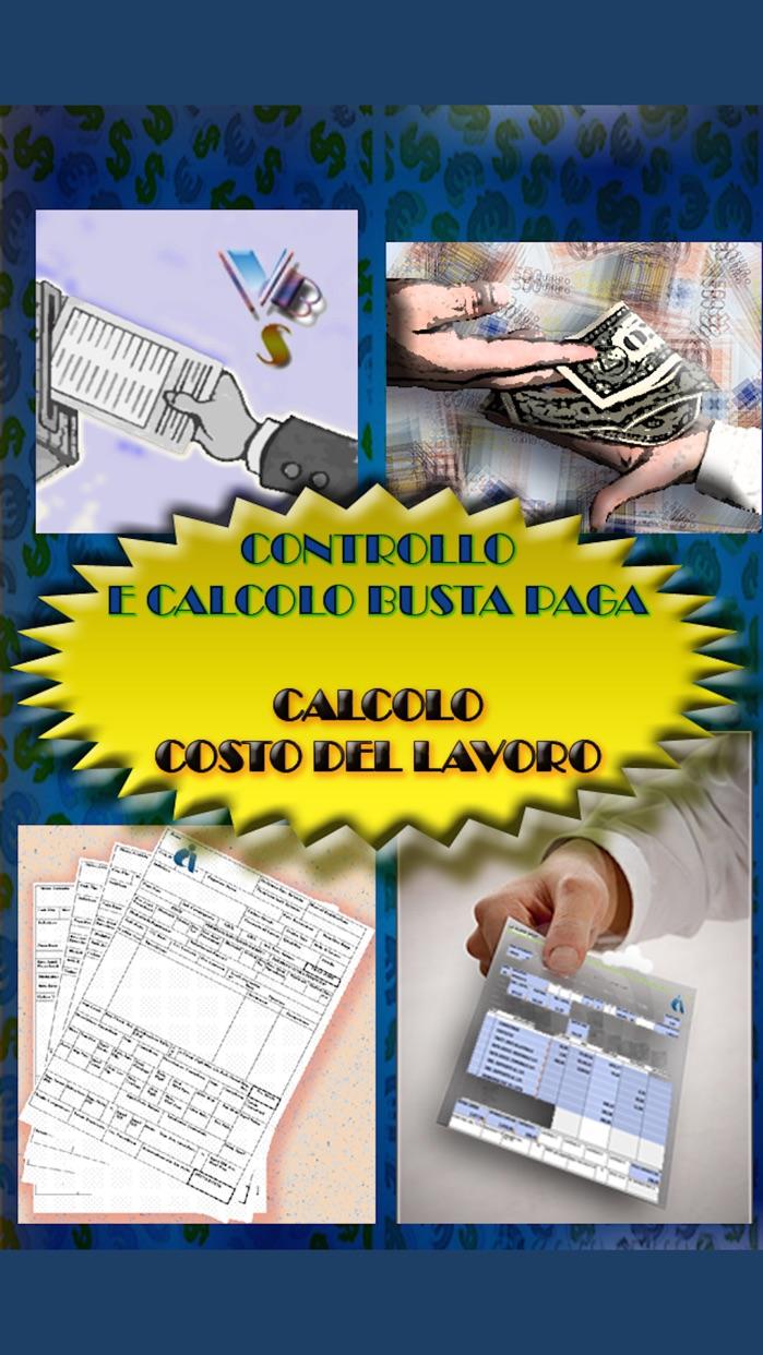 Controllo e Calcolo Busta Paga - Costo del Lavoro Screenshot