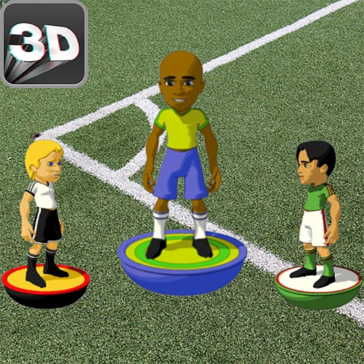 Button Soccer   2 Player Soccer Same Device