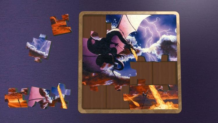 Super Jigsaws Dragons screenshot-3