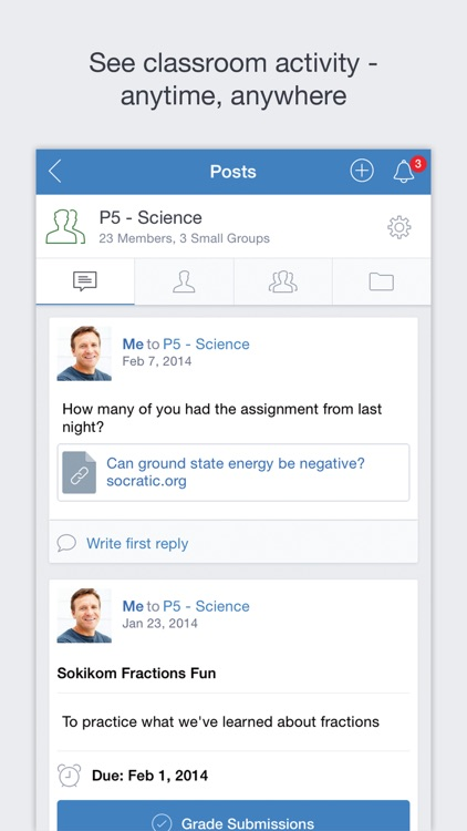 Edmodo screenshot-0
