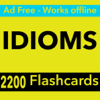 IDIOMS Exam Review App -2200 Flashcards & Concepts