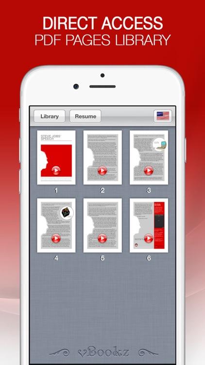 vBookz PDF Voice Reader US screenshot-3