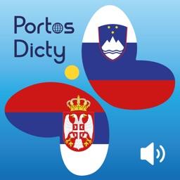 PortosDicty korisne srbsko slovenske fraze sa  zvučnim snimcima od govornica slovenskog jezika/Uporabne srbsko slovenske fraze