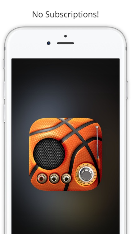 GameTime Basketball Radio - For NBA Live Stream screenshot-4