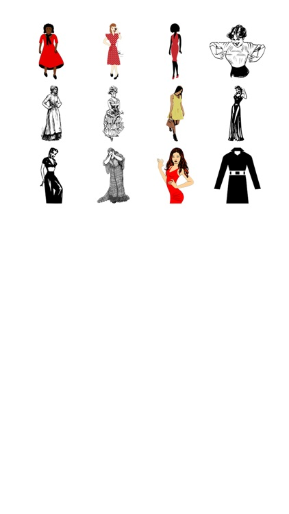 More Dresses Sticker Pack!