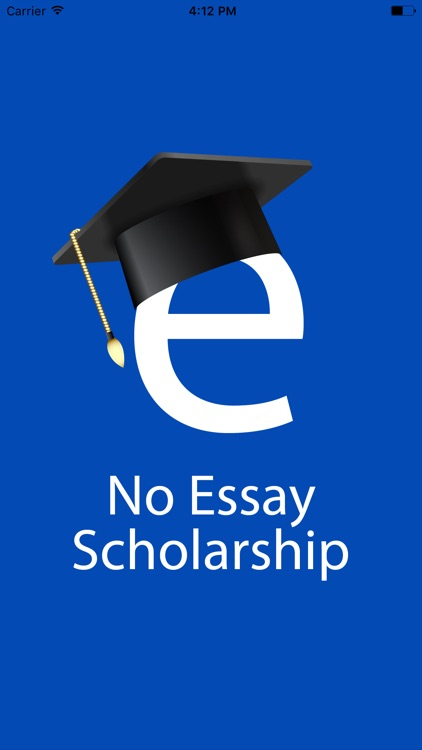 No Essay Scholarship Search  Push To Apply By Kenneth Edwards No Essay Scholarship Search  Push To Apply Customs Article also Essays On Science  Importance Of Good Health Essay