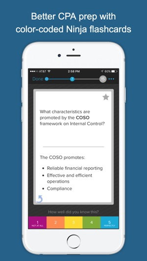 Ninja CPA Exam Flashcards on the App Store