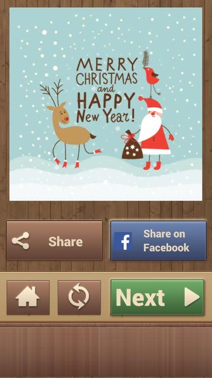 Christmas Greetings Puzzles - Real Jigsaw Puzzle screenshot-4