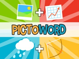 Pictoword Free: Fun 2 Pics Guess What's the 1 Word