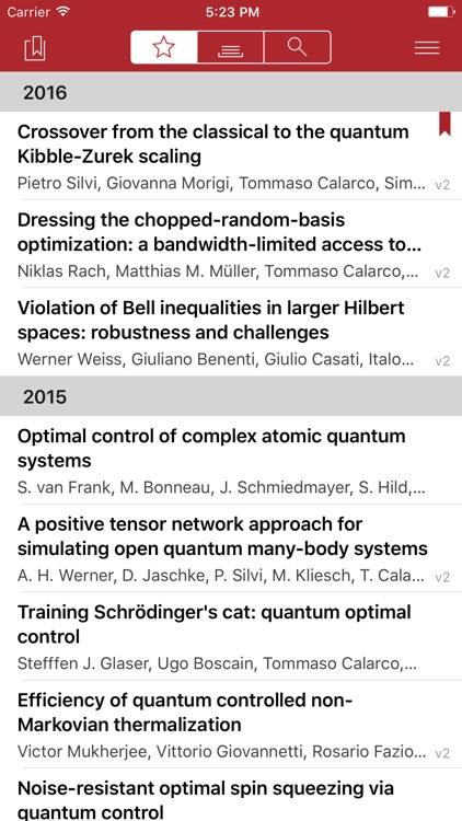 Arx - the arXiv reader screenshot-4