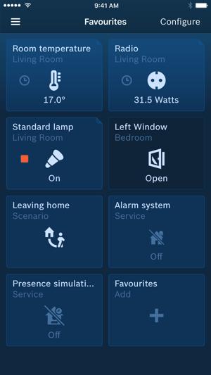 bosch smart home im app store. Black Bedroom Furniture Sets. Home Design Ideas
