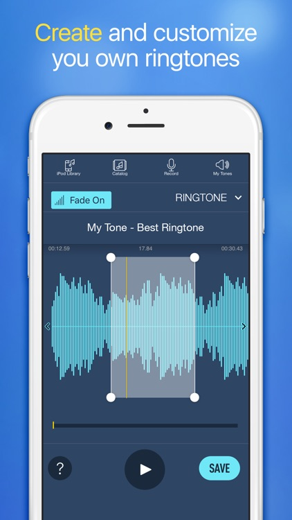 Ringtones for iPhone with Ringtone Maker screenshot-3