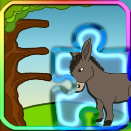 Puzzle Game Learn Farm Animals
