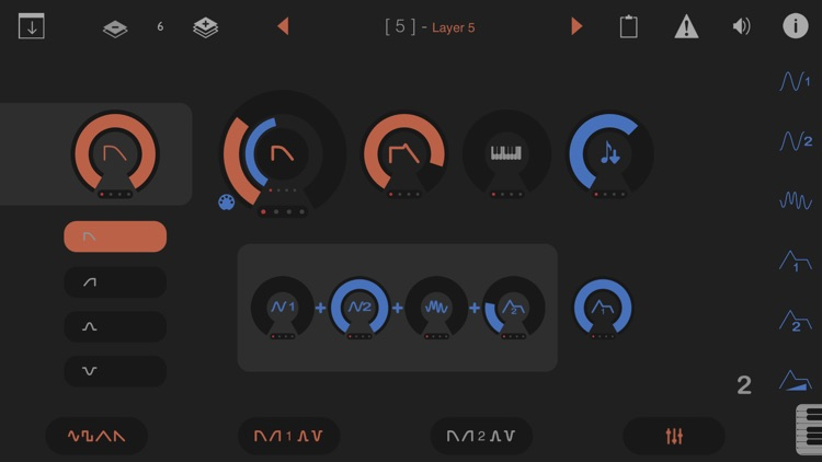 LayR - Multi Timbral Synthesizer