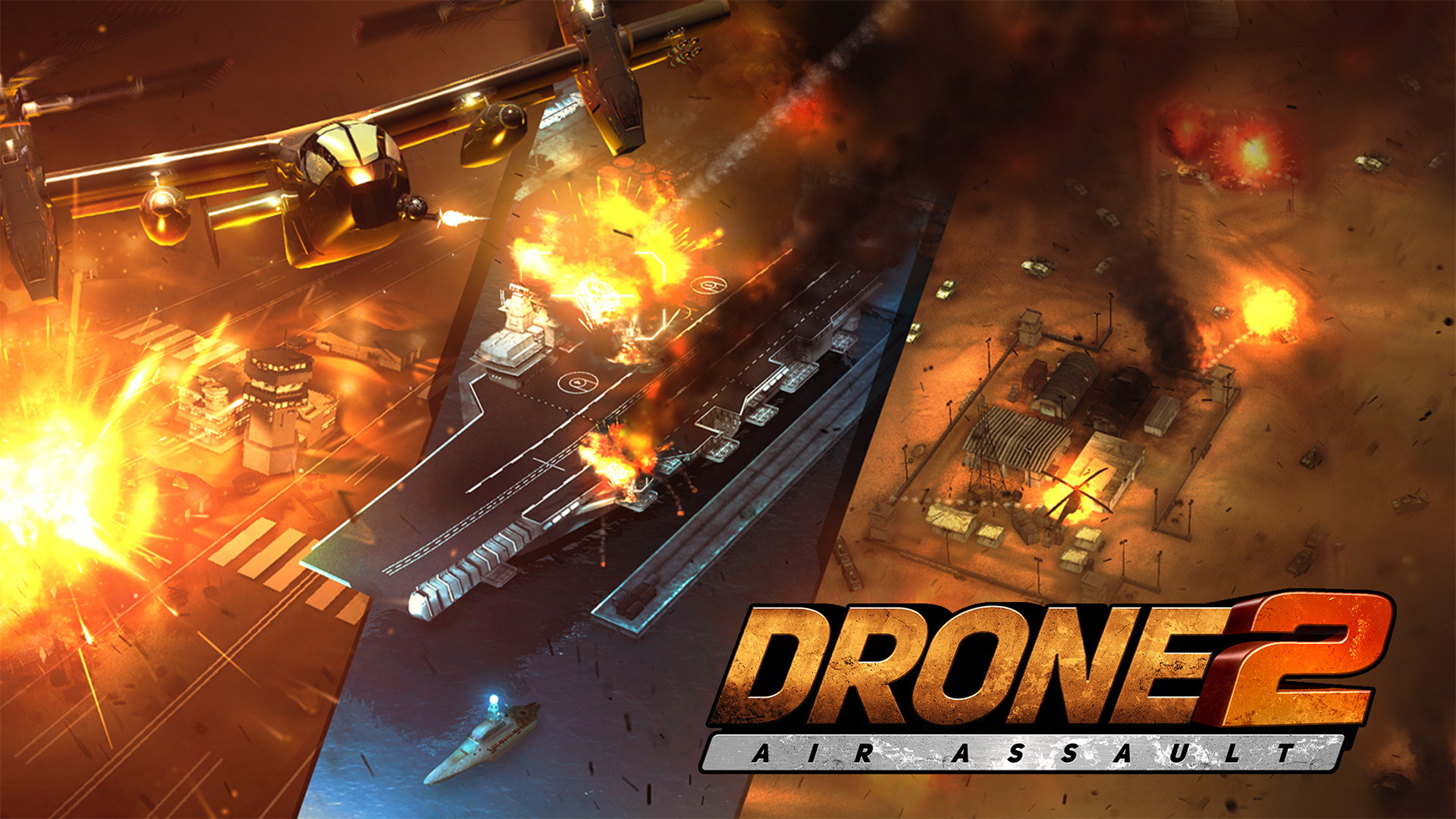 Drone 2 Air Assault screenshot 11