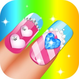 Wedding Princess Nail Art Girls Game