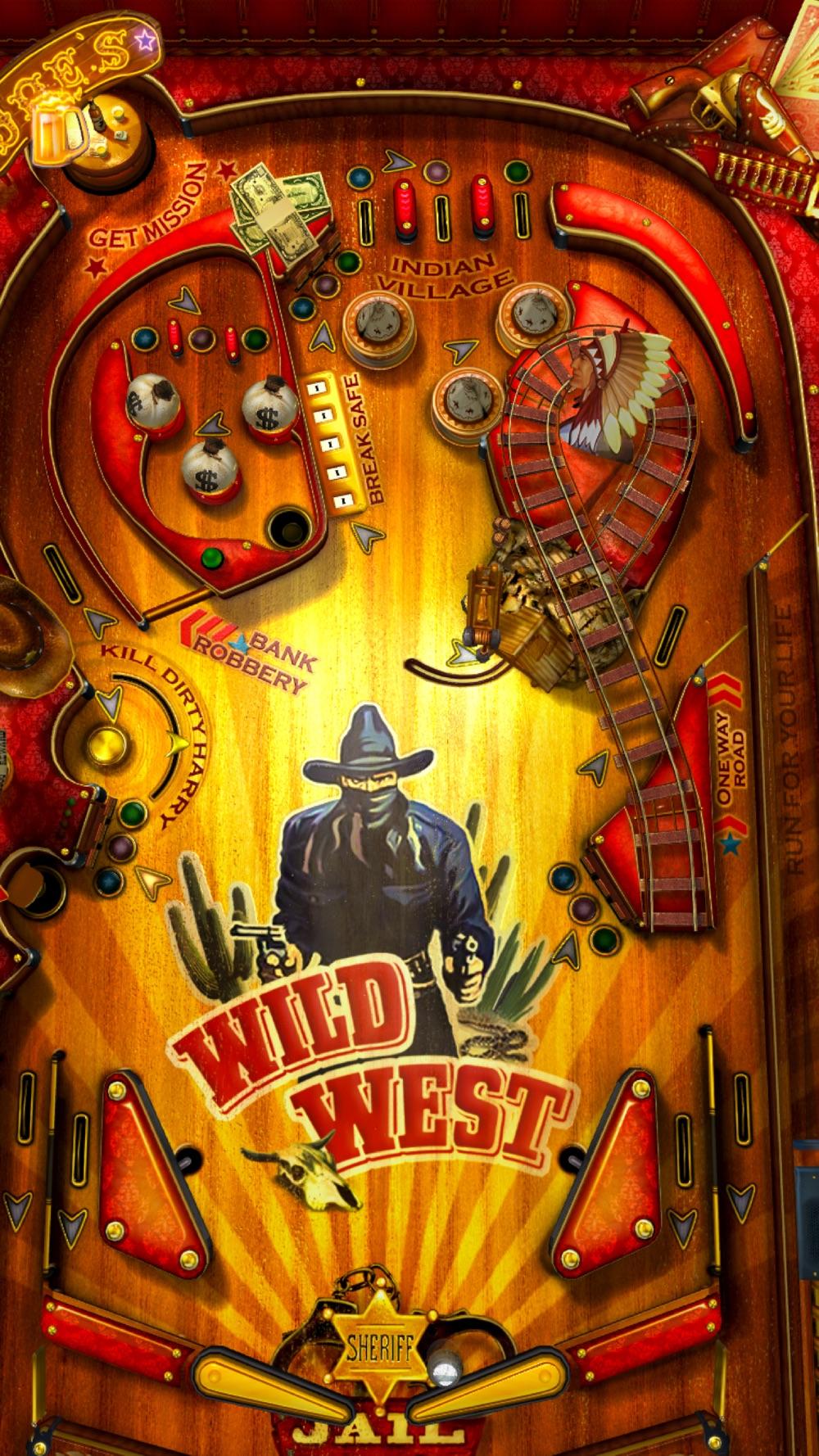 Wild West Pinball Cheat Codes
