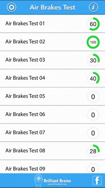 Air Brakes Test