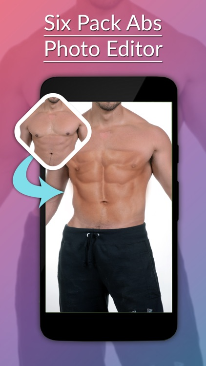 Six Pack Abs Photo Editor -Six Pack Abs Sticker