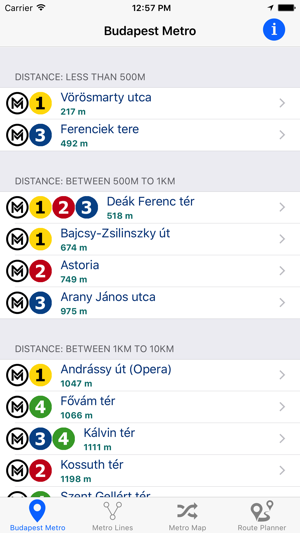 Budapest Metro Subway on the App Store