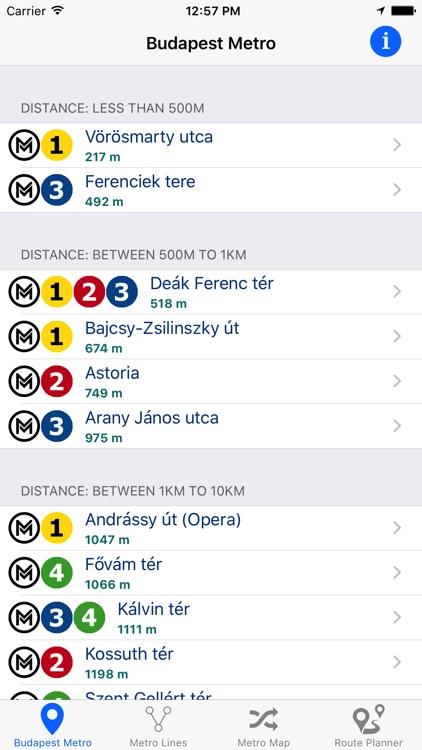 Budapest Metro - Subway