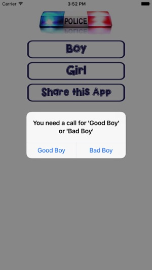 Kids Police (fake police call) on the App Store
