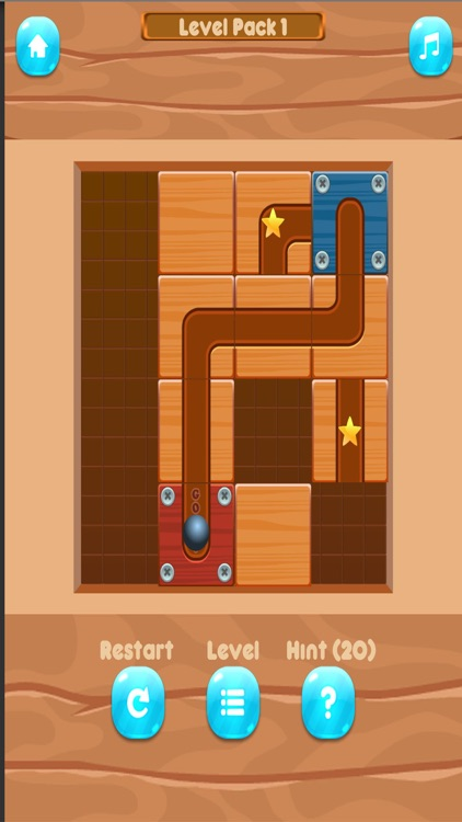 Slide un Roll - unblock puzzle screenshot-0
