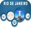 Rio de Janeiro Brazil Offline City Map Navigation