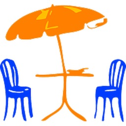 Umbrellas Two Sticker Pack