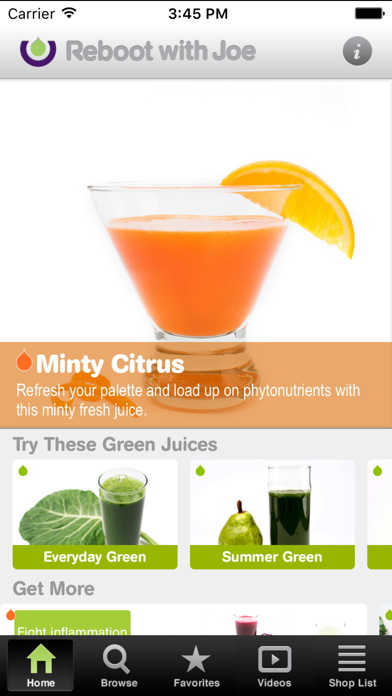 101 Juice Recipes Screenshot