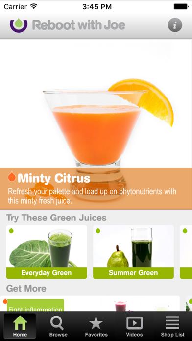 101 Juice Recipes Screenshot