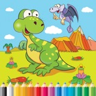 Dinosaur Farm Coloring Book - pour enfant icon