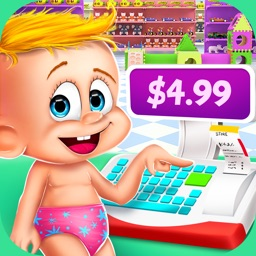 Baby Supermarket Manager - Time Management Game