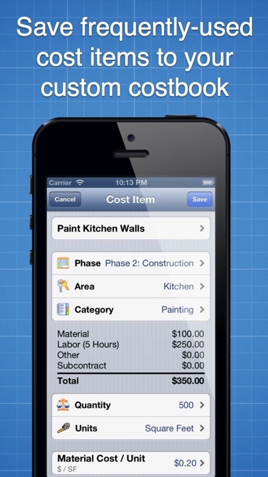 Construction Cost Estimator review screenshots