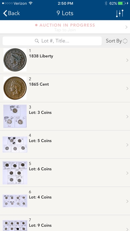 Capitol Coin Auctions