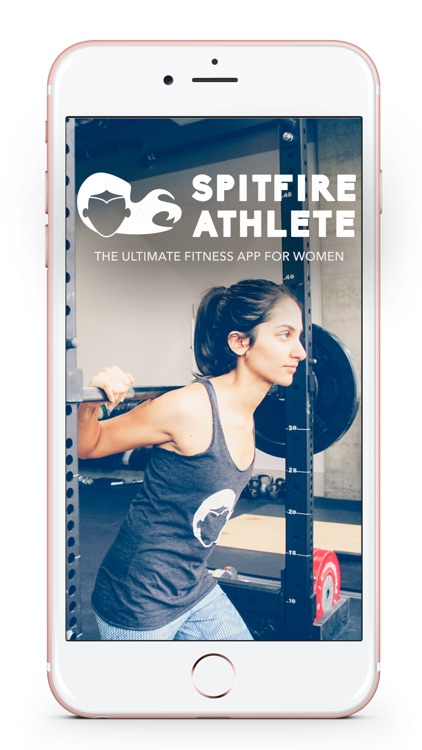 Spitfire Athlete Weight Lifting App & Workout Plan screenshot-0