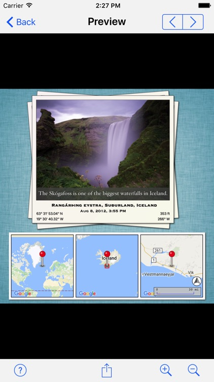 Photo Mapo - Add a map to your photo screenshot-2