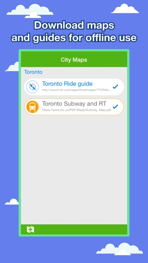 Toronto City Maps Discover YTO with MTR Guides on the App Store