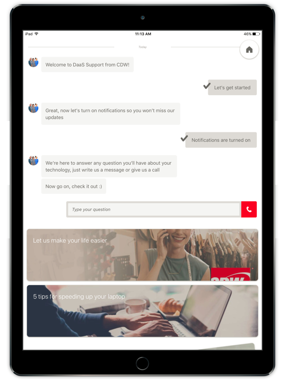 DaaS Support for CDW | App Price Drops