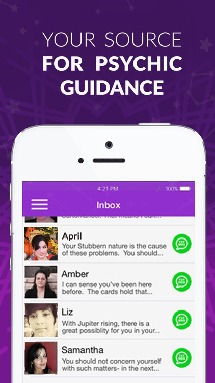 Psychic Txt: Live Psychic Readings and Horoscopes app image