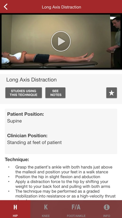 Mobile OMT Lower Extremity screenshot-3
