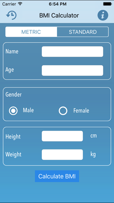Instant BMI Calculator -Control Your Weight & BMI screenshot one