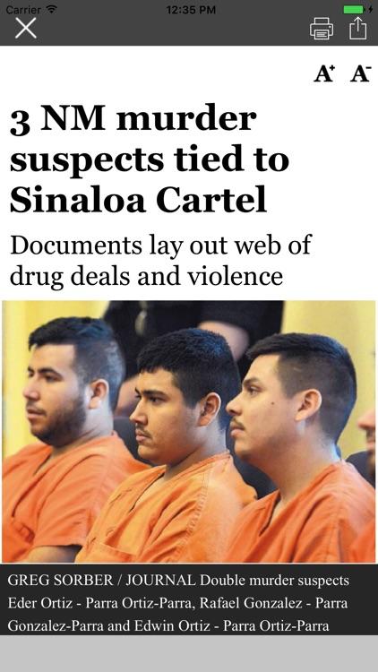 Albuquerque Journal Newspaper screenshot-3