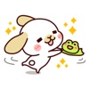 Friendship Of Frog And Rabbit Stickers