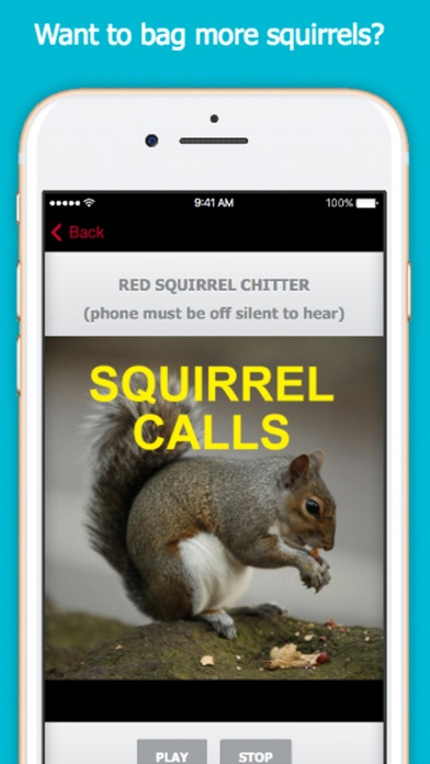 Screenshot for Squirrel Hunting Calls in United States App Store